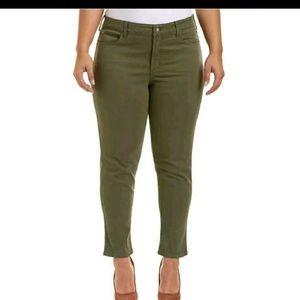 NYDJ Alina Topiary Convertible Ankle Pants